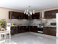 Кухня Гламур глянец Шоколад