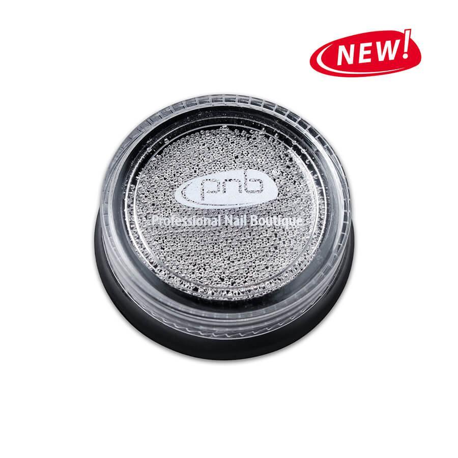 Бульонки PNB Silver 0,8 мм, металические, 4 г