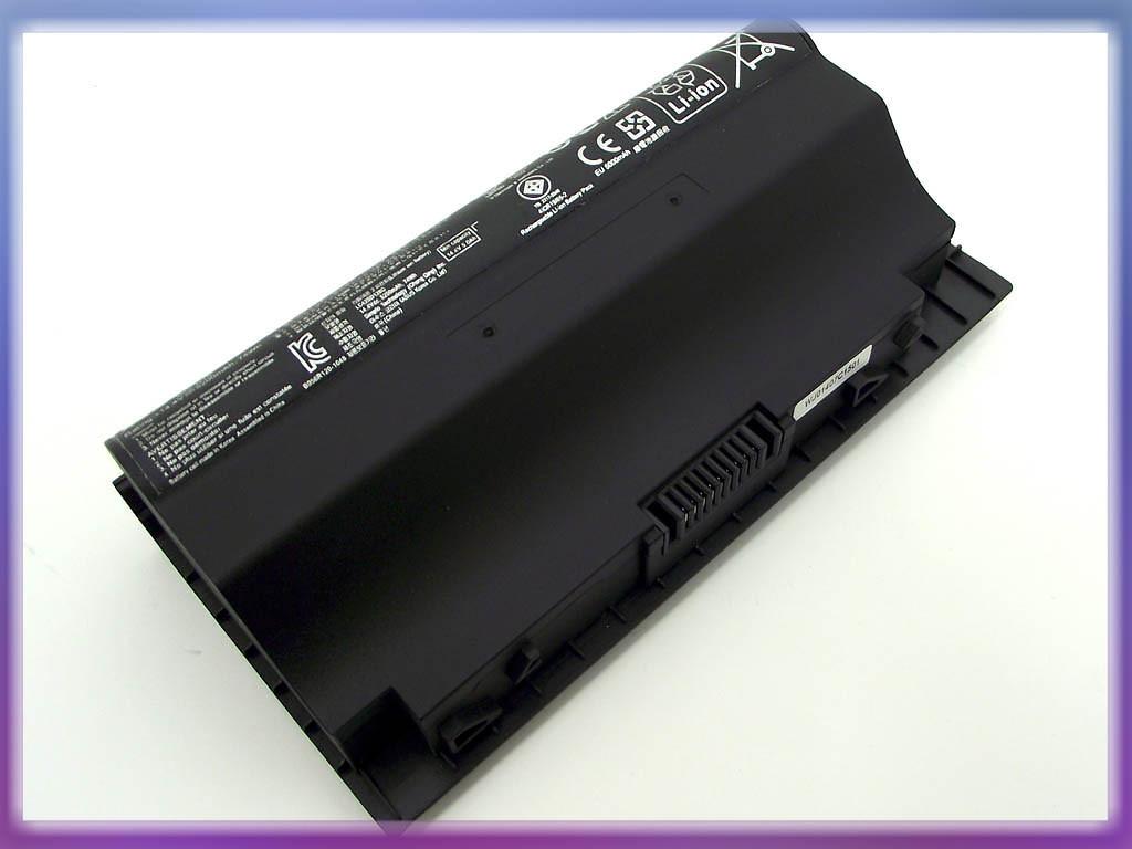 Аккумулятор ASUS (A42-G75) G75V (14.4V 5200mAh  Sanyo Cell). Black.
