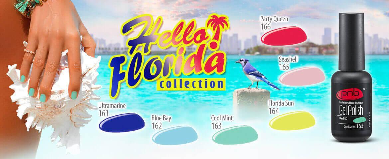 """Палитра """"Hello Florida"""" № 161-166"""