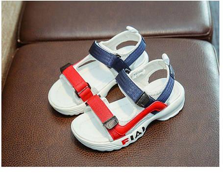 Детские босоножки для девочки в спортивном стиле, фото 2