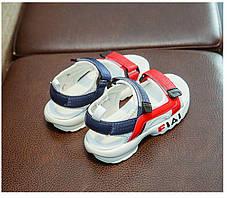 Детские босоножки для девочки в спортивном стиле, фото 3