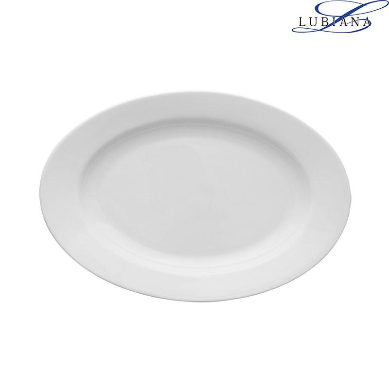 Блюдо фарфоровое овальное Lubiana Kaszub 380мм
