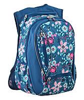 Набор школьный молодежный рюкзак 1 Вересня Т-28 spring на 24 литра с карандашами (555545)