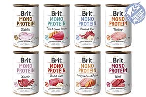 Brit Mono Protein 400 г * 6 шт консерва для собак