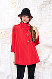 Куртка-ветровка женская демисезонная в 6ти цветах Р-114 50-58 размеры, фото 3