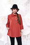 Куртка-ветровка женская демисезонная в 6ти цветах Р-114 50-58 размеры, фото 5