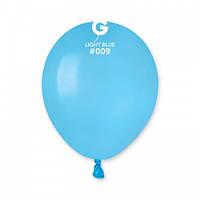 Кулька повітряний 5 дюймів (13 см) пастель БЛАКИТНИЙ