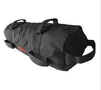 Сэндбэг размер L- до 35 кг спортивная сумка-утяжелитель (Sandbag, песочный мешок) черного цвета, фото 1