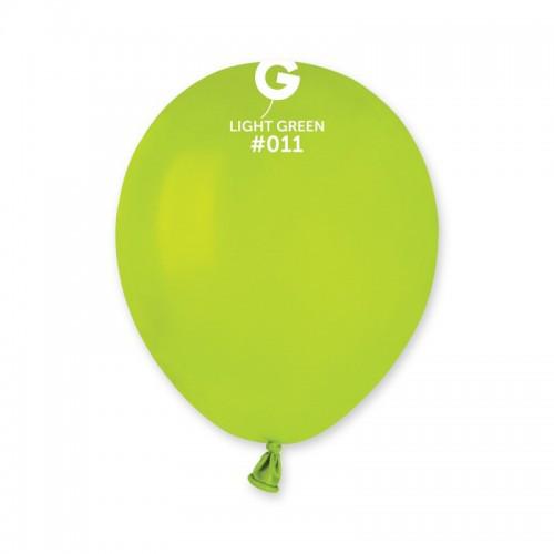 Кулька повітряний 5 дюймів (13 см) пастель САЛАТОВИЙ