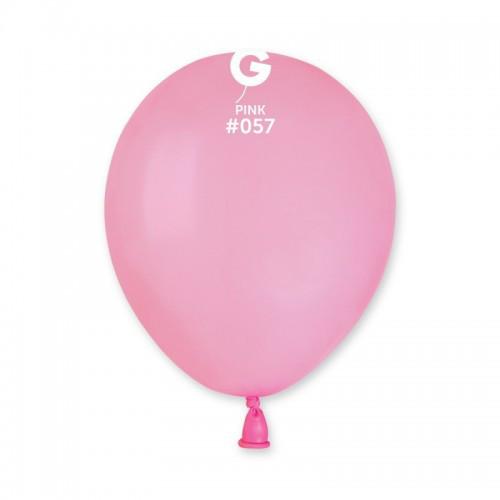 Кулька повітряний 5 дюймів (13 см) пастель НІЖНО-РОЖЕВИЙ