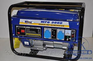 Werk бензогенератор 2,2 кВт WPG3000