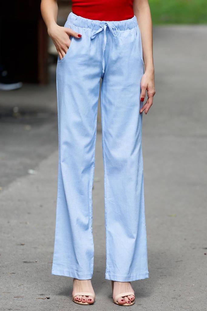 Голубые брюки ZYTA