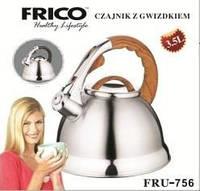 Чайник нержавеющая сталь  FRICO FRU-756, 3л