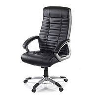 Крісло офісне Атлант NEW MP TILT чорного кольору з екошкіри