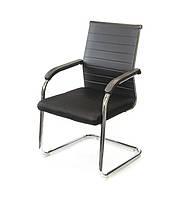 Кресло офисное Промо CH CF черного цвета из экокожи