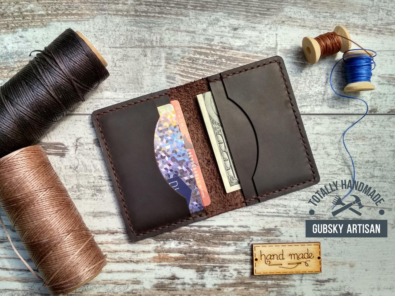 b8393d1d047c Кредитница мини кошелек карт холдер из натуральной кожи crazy horse ...