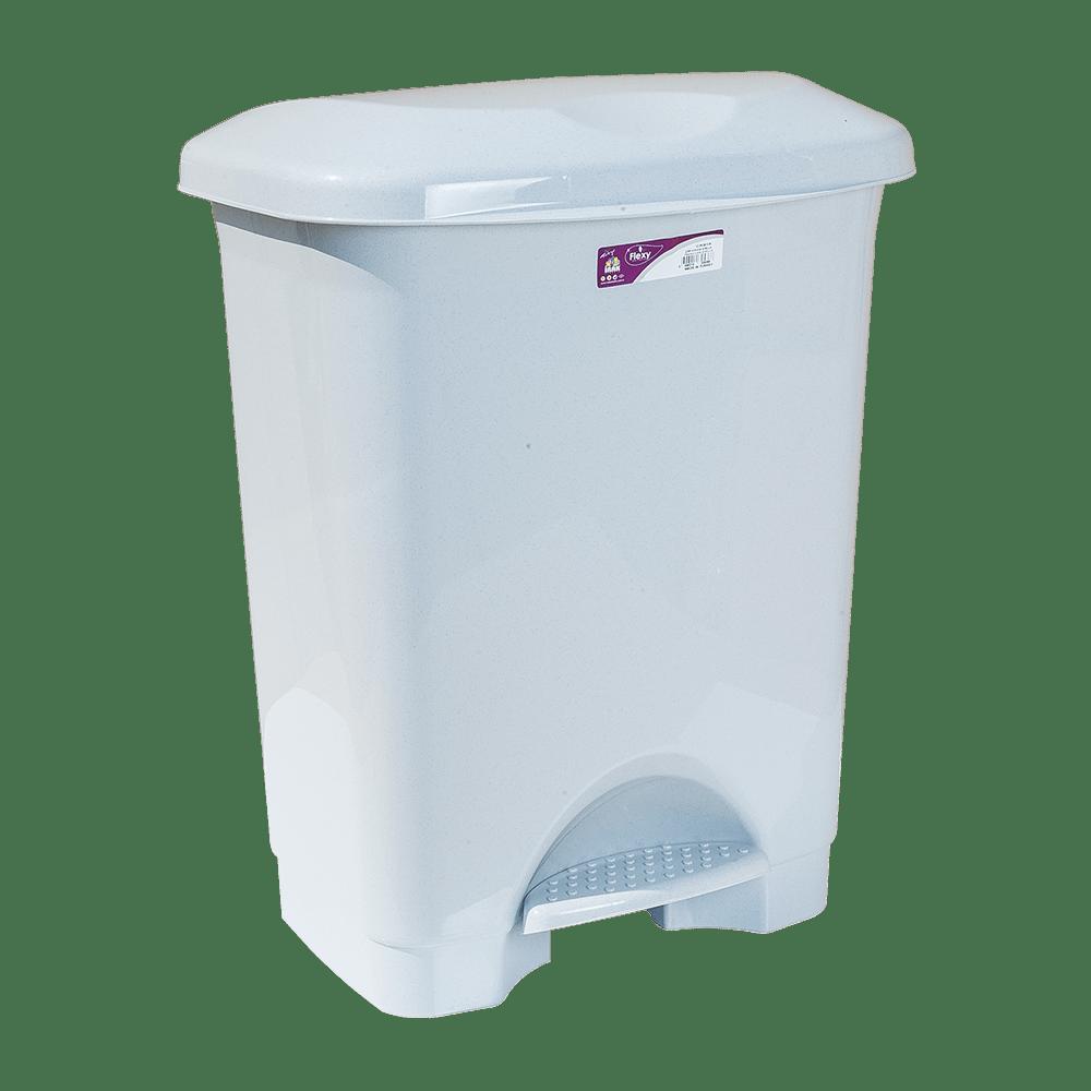 Ведро для мусора с педалью Irak Plastik Stella 45л серое