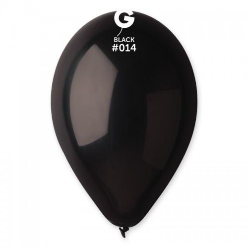 Кулька повітряний 12 дюймів (30 см) пастель ЧОРНИЙ
