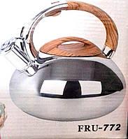 Чайник нержавеющий 3 л  Frico 772