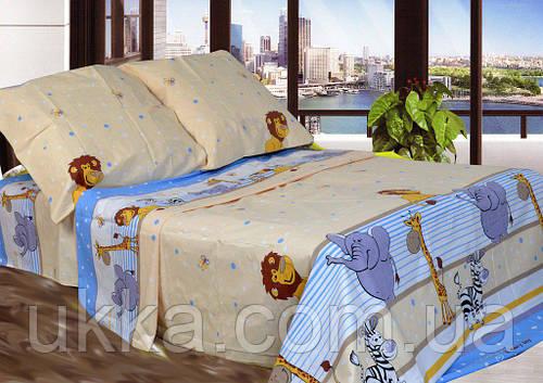 Детское постельное белье Сафари полуторное