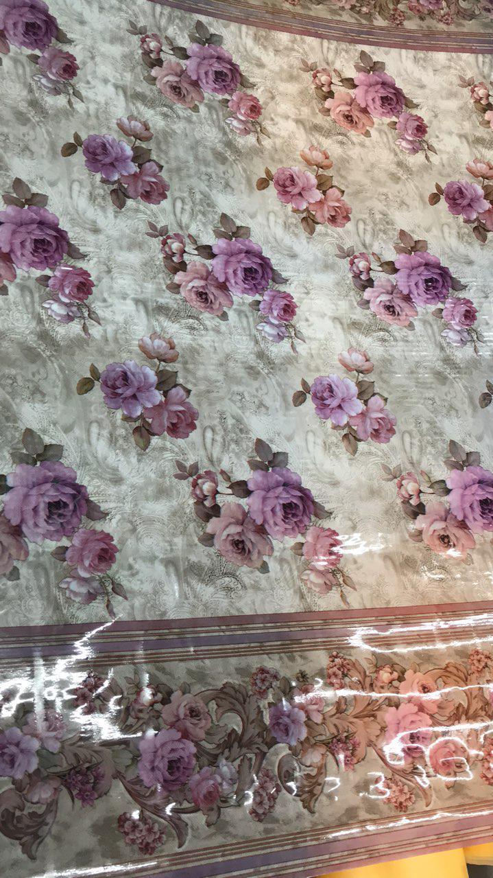 """Клеенка силиконовая 1,37 см """"цветок"""""""
