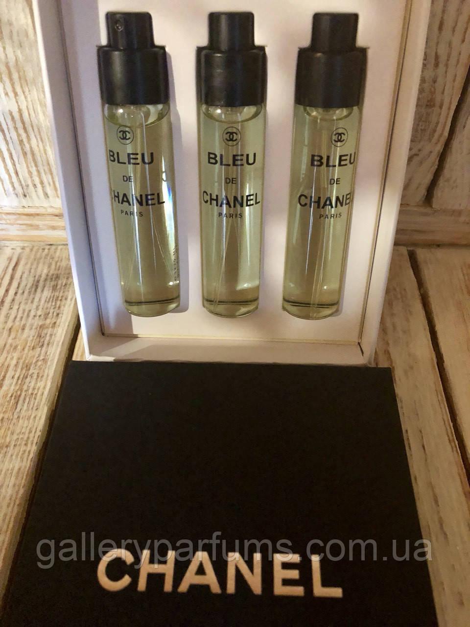 купить подарочный набор оригинал Chanel Blue De Chanel Eau De