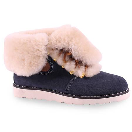 Зимние ботинки Lifexpert(удобная подошва, теплые, возможность заворачивать, замшевые, стильные)