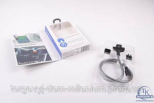 Автомобильный кабель-держатель USB на micro USB cable H