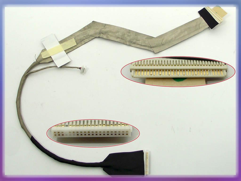 Шлейф матрицы Toshiba Satellite L350, L355 17