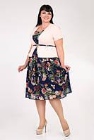 Платье большого размера м350, фото 1