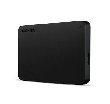 "Внешний жесткий диск 1 Tb / 1000 Gb Toshiba Canvio Basics, Black, 2.5"", USB 3.0 (HDTB410EK3AA), 1 Тб / 1000 Гб, фото 2"