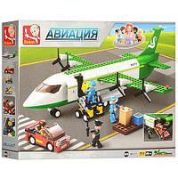 """Конструктор SLUBANM38-B0371 """"Грузовой самолет"""" 383 деталей, фото 1"""