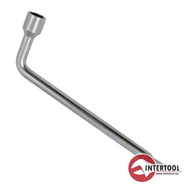 Ключ баллонный L-образный 19мм*350мм XT-4219