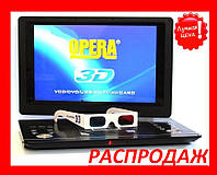 """Портативный ДВД плеер Opera  7,8- 20"""" USB+TV+AV Есть все размеры! Акция!!!"""