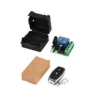 433МГц одноканальный беспроводной выключатель на 12В с таймером + Пульт
