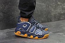 Кросівки чоловічі Nike air More Uptempo,темно сині, фото 3