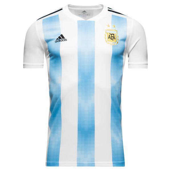 Детская футбольная форма АРГЕНТИНА (основная к ЧМ 2018) футболка + шорты