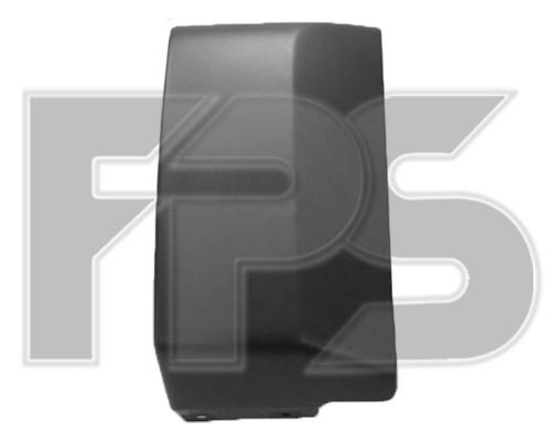 Накладка переднего бампера Mitsubishi Pajero Wagon 4 (V80/V90) 07-12,