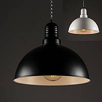 Потолочный светильник [ Color Series Vintage Loft ]  ( VL- 2  чёрный / белый ), фото 1
