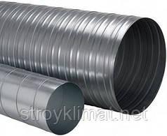 Труба d450 L 1(м)  0,7 мм оцинкованная спирально-навивная d450 L 1(м)