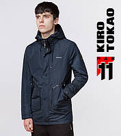 11 Kiro Tokao   Мужская куртка 9952 синий