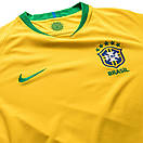 Детская футбольная форма БРАЗИЛИЯ (основная к ЧМ 2018) футболка+шорты, фото 3