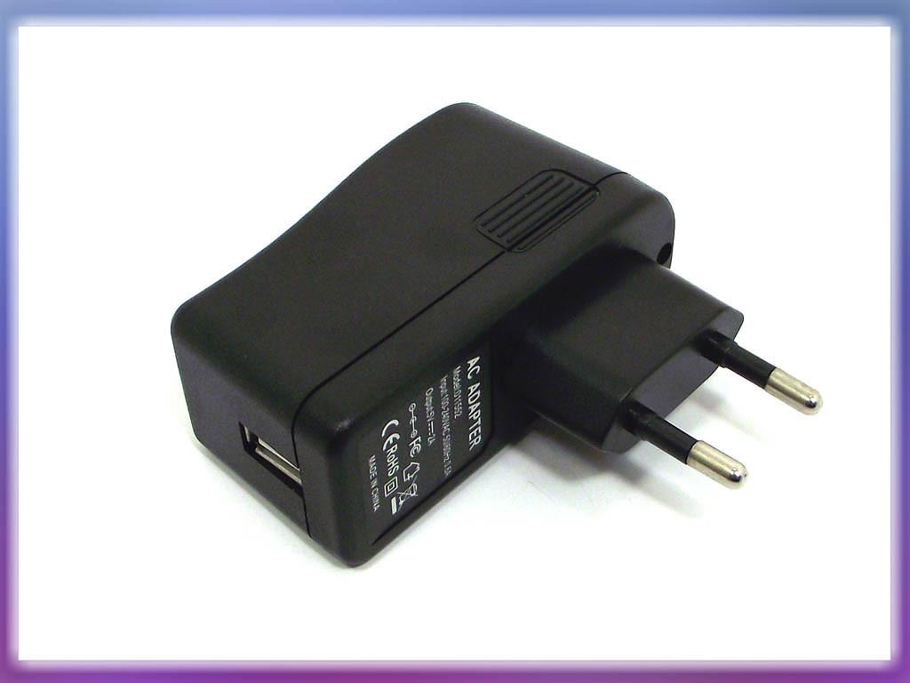 Блок питания для планшетного ПК 5V 2A 10W (USB гнездо). Зарядное устро