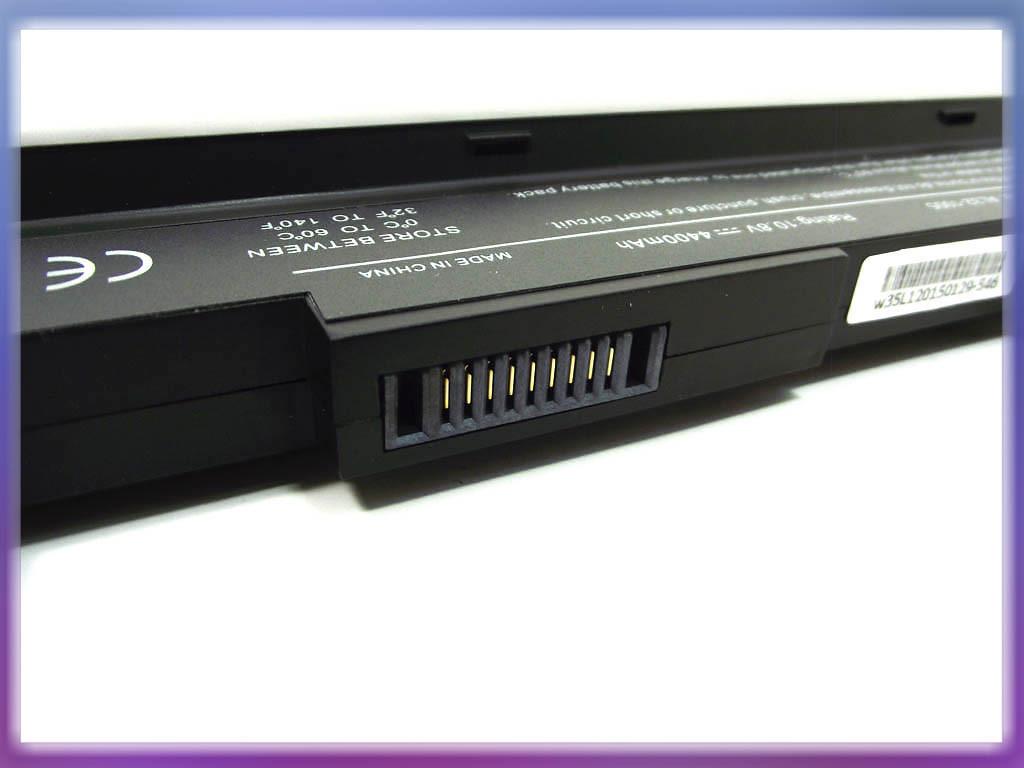 Аккумулятор ASUS AL32-1005 Eee PC 1005PE (10.8V 4400mAh) 6Cell Black. 3