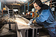 Угловая шлифмашина Bosch GWS 24-230 JH, фото 2