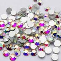 Камни кристалл Сваровски SS4 малиновые 720 шт 043