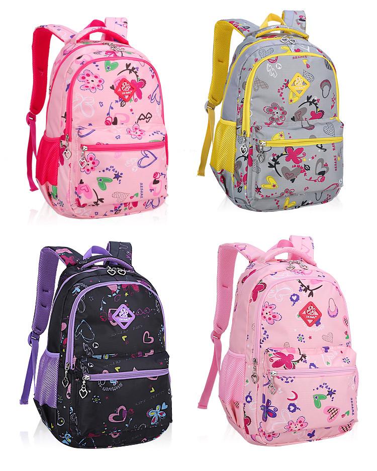 """Школьный рюкзак для девочки """"ZM-BABY"""" (1-12 класс/два размера)"""