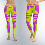 Капри, лосины MEX Nutrition Leggings Fit Girl Lime