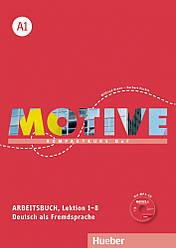 Motive A1 Arbeitsbuch Lektion 1-8 mit MP3-Audio-CD